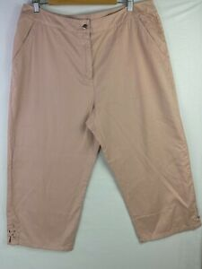MILLERS Size 18 Mens Pink Casual Chino Shorts Zip Button Fly Knee-Length Pockets