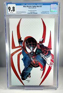 MILES MORALES SPIDER-MAN #25 CGC 9.8 DRIP Hoodie Mayhew Variant In-Hand