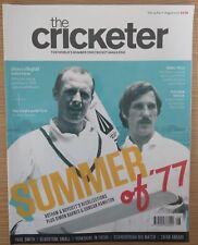 THE CRICKETER - AUGUST 2017 (VOLUME 14, ISSUE 11)