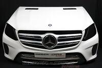 Mercedes X166 GLS 350D Stoßstange Kühler Front Paket Motorhaube POLARWEIß 149