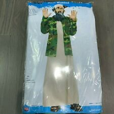 Fun World Most Wanted Bin Laden Adult Costume New 130824 Halloween One Size