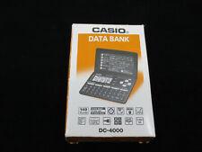 Vintage Casio Dc-4000 Data Bank New