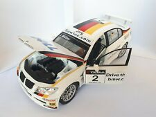 BMW 320si E90 WTCC J. MULLER BMW TEAM GERMANY SCHNITZER GUILOY 1:18 SCALE