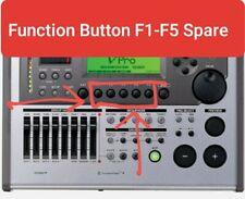 Roland TD-20 Drum Module Function Buttons (F1, F2, F3, F4, F5) READ DESCRIPTION