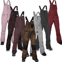 Volcom Swift Bib Combinaison Damen Pantalon de Snowboard Salopette Neige Neuf