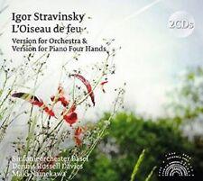 Orchestra Filarmonica Basilea-Stravinsky: l'Oiseau de feu (Orchestral and 2 CD NUOVO