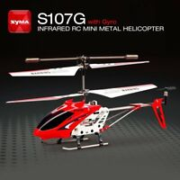 Syma S107G Gyro Metal Infrared 3CH RC Drone Mini Helicopter Toys Gift RTF NZ