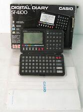 casio sf-4100 agenda/ calcolatrice, con scatola