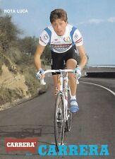 CYCLISME carte cycliste ROTA LUCA équipe CARRERA Jeans