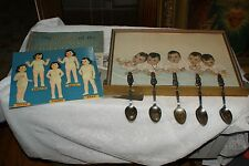 1935 DIONNE QUINTUPLETS SPOON COLLECTION  & Other Collectable Mementos