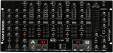 Like N E W Behringer VMX1000USB DJ Mixer 3 Year Warranty Opened Box Never Used!