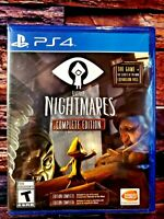 Little Nightmares Complete Edit. - PS4 - Sony PlayStation 4 - Brand NEW - Sealed