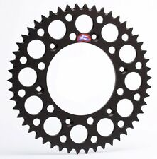 Renthal Ultralight aluminium 51t rear sprocket black Suzuki RM250 2000-2009