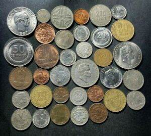 Old Colombia Coin Lot - 1881-Present - 35 Great Coins - Lot #S16