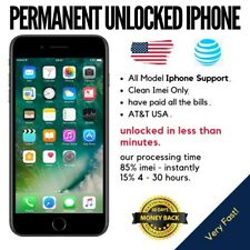 Premium FACTORY UNLOCK CODE SERVICE AT&T ATT for IPhone 3 4 5 6 s SE 7 8 Fast