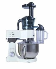 BERG 1200 Watt 5L Electric Food Stand Mixer in Ivory/Cream, Aluminium Die Cast