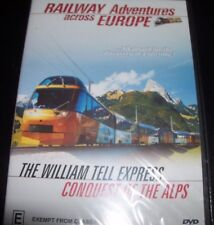 Railway Adventures Across Europe (Train Interest) (Aust PAL All Region) DVD NEW
