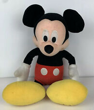 """DISNEY Mickey Mouse 20""""  Plush Classic Red pants yellow shoes & white gloves"""