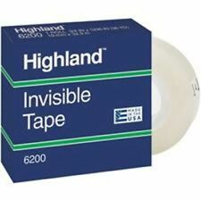 3m Highland Permanent Invisible Transparent Tape Mmm620018bxd