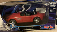 Maisto - BMW Z8 1:24 scale Special Edition die cast model car Red Collectable