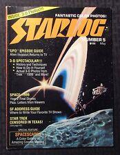 1977 STARLOG Magazine #5 VF- 7.5 Space 1999 Star Trek NO 3-D Glasses