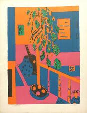 Paul CROTTO (1922-2016) Lithographie Signée Années 70/80 Figuration narrative