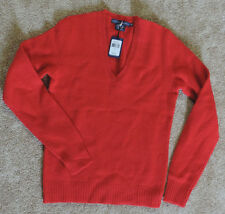 NWT Ralph Lauren Boys Merino Wool & Angora Sweater Size M Color Red, Retail $145