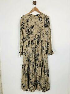 Saint and Sophia Women's Midi Dress   UK10   Brown