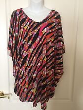 d3ad19c9b4660 TRINA TURK~COVER UP~TUNIC~Women s MEDIUM~NWT~Multi color~