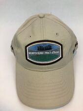 North End Men's Classic Golf Tan Sand Tournament Cap Hat Adjustable NEW w Tags