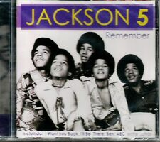 JACKSON 5 MICHAEL JACKSON REMEMBER CD BRAZIL 20 TRACKS SEALED LIMITED NICE P/S