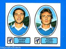 CALCIATORI PANINI 1977-78 - Figurina-Sticker n. 384 -GUIDA-VIGANO BRESCIA-New