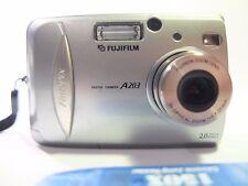 Fujifilm FinePix A Series A203 2.0MP Digital Camera - Metallic silver