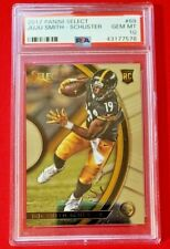 Juju Smith Schuster 2017 Panini Select Rookie RC PSA 10 GMT Steelers