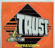 "33T TRUST Vinyle LP 12"" REPRESSION Version ANGLAISE Hard Rock EPIC 84811 RARE"