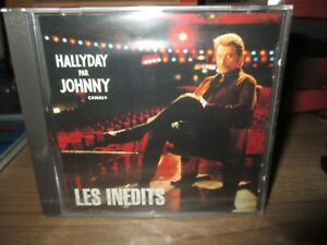 Johnny-Cd collector,boitier cristal-Hallyday par Johnny-Inédits-Canal+