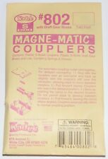 Kadee S scale # 802  magne-matic couplers ~  2 Pair Pack ~  New
