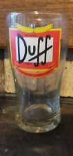 1 glass Duff real Beer  made in ARGENTINA