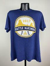 Men's '47 Brand Seattle Mariners 2017 Spring Training Peoria, AZ Blue Tee Large
