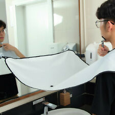 The Beard Bib Apron Facial Hair Trimmings Catcher Cape Sink Home Salon Tool E