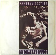 """SPEAR OF DESTINY The Traveller / Late Night Psycho 7"""" single Germany 1987 G+/EX"""