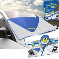 Goodyear Magnetic Car Windscreen Cover Ice Frost Shield Snow Dust Protector Sun