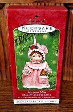 New In Box Mistletoe Miss Collector's Series #1 2001 Hallmark Christmas Ornament