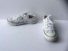 White Converse All Star Low Ox Trainers, Size: UK - 4    EU - 36.5