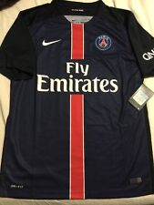 NIKE PARIS SAINT-GERMAIN HOME JERSEY,LARGE,NWT
