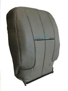 2002-2005 Dodge Ram1500, 2500, 3500 Driver Lean Back Vinyl Seat Cover Taupe Tan