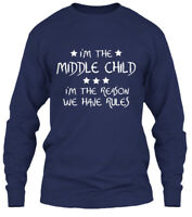 Must-have Middle Child - I'm The Reason We Have Gildan Long Sleeve Tee T-Shirt