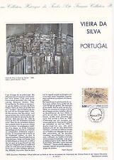 Document Philatélique Timbre 1er Jour : 11/12/ 1993 - Portugal Vieira Da Silva