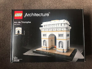 NEW SEALED LEGO Architecture Arc de Triomphe 21036 FREE SHIPPING