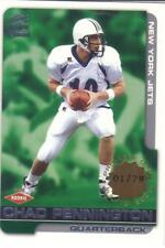 2000 PACIFIC PARAMOUNT PREMIERE DATE #'ed 01/79 rookie CHAD PENNINGTON #167 Jets